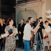 Natáčení dokumentu ČT / režie J. Platz/