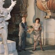 Zahájení, červen 1992 Radovan Lukavský, Olga Sozanská