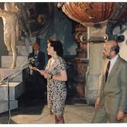 Olga Sozanská a J.T. Kotalík, zahájení